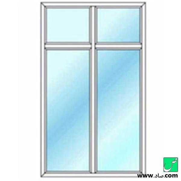 پنجره دوجداره upvc مدل 4