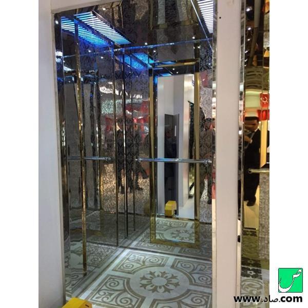 کابین آسانسور کد 16