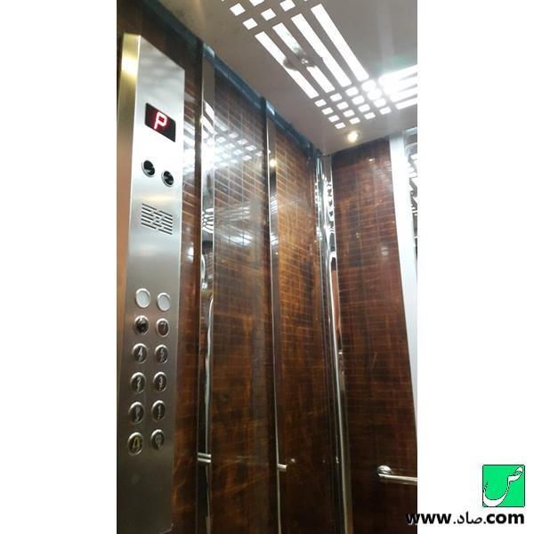 کابین آسانسور کد 17